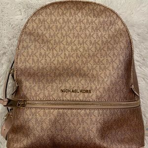Michael kors backpack (used)